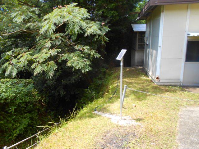 徳島県三好市・水道課様 池田町・越替配水池 IoT配水池水位監視センサー設置<3号機> 画像